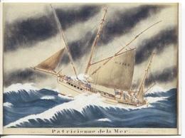 CPM - ILLUSTRATION Paul-Emile PAJOT - Dundee Thonier De GROIX - Edition Chasse-Marée Armen (format 16.5x12) - Pêche