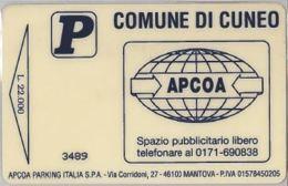 BIGLIETTO PARCHEGGIO MAGNETICO CUNEO (E41.23.8 - Biglietti D'ingresso