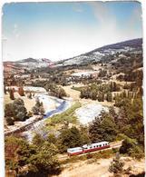 LE MASTROU Dans La Vallée De LAMASTRE-TOURNON (ARDECHE)  Micheline - Photo Originale Et Unique  1966 -COMBIER à MACON - Trains