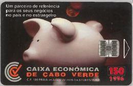 PHONE CARD -CAPO VERDE (E41.27.4 - Kapverden