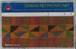 PHONE CARD -GHANA (E41.30.8 - Gabun