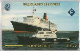 PHONE CARD -FALKLAND (E41.33.1 - Falklandeilanden