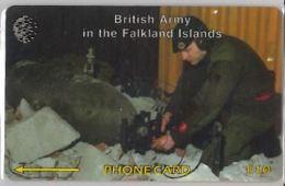 PHONE CARD -FALKLAND (E41.33.4 - Falklandeilanden