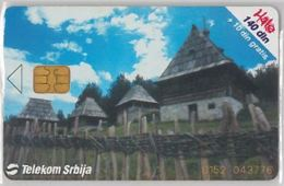 PHONE CARD -SERBIA (E41.43.7 - Jugoslawien