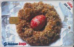 PHONE CARD -SERBIA (E41.43.8 - Jugoslawien