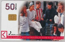 PHONE CARD -BOSNIA ERZEGINA (E41.45.8 - Bosnië