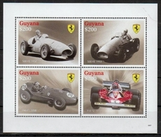 Guyana 2009 - Voitures Sport Ferrari - BF Neufs // Mnh - Guyane (1966-...)