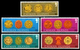 1976 Cayman Islands (5) Set - Cayman Islands