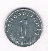 1 PFENNIG 1940 B DUITSLAND/2123/ - [ 4] 1933-1945: Drittes Reich