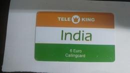 India-tele King-(85)(6€)(1card)(942038551)(look Out Side)-used Card+2 Card Prepiad Free - India