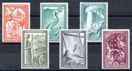 GRECE 1951 - YT N° 575 à 580 - Neufs ** - MNH - Cote 250,00 € - Europa Idées Européennes - Griechenland