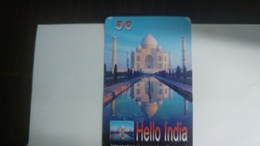 India-wow India-(89)(5€)(1card)(759474593099)(look Out Side)-used Card+2 Card Prepiad Free - India