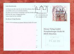 Karte, EF Frankenberg Sk, MS St Michaelis Hildesheim Briefzentrum 30, Bad Nenndorf Nach Muenchen 2010 (70562) - BRD