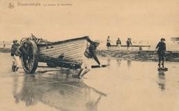 CPA - Belgique - Blankenberge - Blankenberghe - La Barque De Sauvetage - Blankenberge