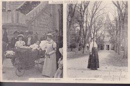 GIRONDE – BEGLES – Jeanne Giraud – Avant Et Après Sa Guérison - France