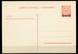"""German Empires 1940 GS Mi.Nr.P8 Überdruck,overprint"""" Deutsche Besetzung Luxemburg-1 Rpf Auf 1 Fr.,rot""""1 GS Mint,MNH - Occupation"""