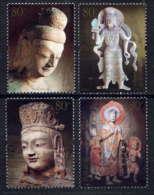 CHINE - 4360/4363** - GROTTES DE YUNGANG - 1949 - ... République Populaire