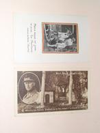 Koninklijke Familie België / Belgique Famille Royale ( 2 Pcs ) Roi Albert & Léopold III > ( Zie / See / Voir Photo ) ! - Religione & Esoterismo