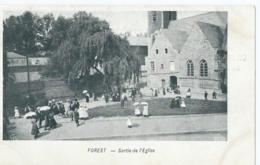 Vorst - Forest - Sortie De L'Eglise - Fournisseur De La Cour - Chocolat Blumer Rue Lambermont Anvers - Forest - Vorst