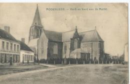 Moorslede - Kerk En Kant Van De Markt - Uitg. J. Veys, Pitthem - 1918 - Moorslede