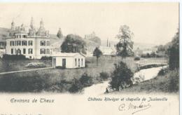 Theux - Environs De Theux - Château Ritwéger Et Chapelle De Justenville - Nels Série 97 No 17 - 1902 - Theux