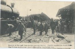 Kontich - Contich - 21 Mai 1908 - Schrikkelijk Spoorweg Ongeluk - Kontich