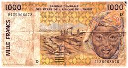Billets > Autres - Afrique 1000 Francs - Billets