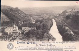 Amblève-Aywaille Panorama Vu Du Donjon Et Ruines Du Vieux Château - Aywaille