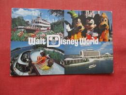 Disneyworld ---Steamboat    Goffy Mickey & Pluto  --River Country .  Contemporary Hotel    Ref 3213 - Disneyworld