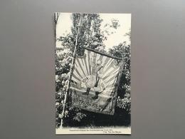 MELLE - Vaandelinhuldiging Oud-strijders 1921 - Anciens Combatants - Guerre 1914-1918 - Drapeau Militair - Melle