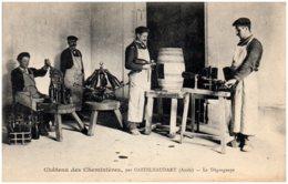 11 Château Des Cheminières, Par CASTELNAUDARY - Le Dégorgeage - France