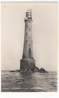 Bishop Lighthouse Scilly Isles Vintage RP Postcard James Gibson - Scilly Isles