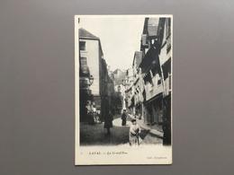 LAVAL - La Grand' Rue - Animation - 1901 - Laval
