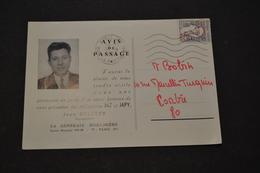 Carte 1966 Flamme Ondulée PUB JAZ Transistor Jazistor Plus Jamais De Remontage - Storia Postale