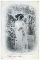ACTRESS : MISS MARIE DAINTON - Theatre
