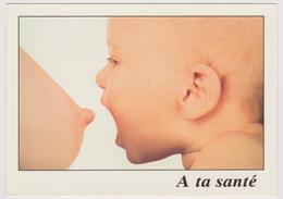 A Ta Santé - Bébé Prêt à Téter Sein Nu - Ed. AS DE COEUR N° 94.02.38.02 - Babies