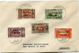 LATTAQUIE LETTRE DEPART LATTAQUIE 8-12-36 POUR LE LIBAN - Lettres & Documents