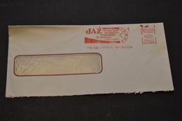 Lettre 1966 EMA JAZ La Plus Forte Production Mondiale De Pendule Transistor - Postmark Collection (Covers)