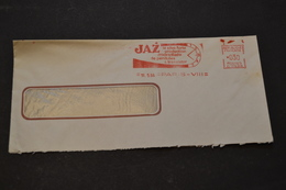Lettre 1966 EMA JAZ La Plus Forte Production Mondiale De Pendule Transistor - Storia Postale