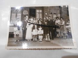 Ancienne Photo De Calonne Sur La Lys (pas De Calais) Rue Du Vert Touquet Café , Garage , Bistrot , épicerie - Andere