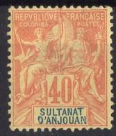 ANJOUAN  N* 10  Aminci - Anjouan (1892-1912)