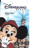 PASS-DISNEYLAND-PARIS-1999- HIVER-MINNIE-ENFANT-V°ISRA-98112 MINBS- TB E-RARE - Pasaportes Disney