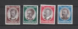 Deutschland Deutsches Reich  * Falzspuren   540-543 Kolonialgedenkfeier Katalog  20,00 - Ungebraucht