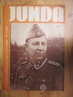 WWII Latvia Waffen SS Man Totenkopf Legion Propaganda Magazine BUTKUS Photo - 1939-45