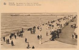 CPA - Belgique - Oostende - Ostende - Vue Générale De La Digue Vers L'estacade - Oostende