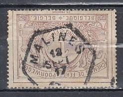 Tr 26 Gestempeld Malines Hexagon - 1895-1913