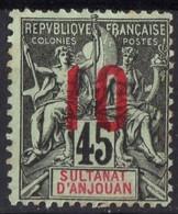 ANJOUAN  Neuf Sans Gomme 27 - Anjouan (1892-1912)
