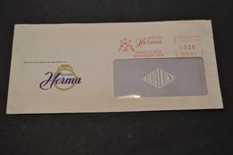Lettre 1960 EMA Montres HERMA Médaille D'or Bruxelles 1958 - Marcophilie (Lettres)