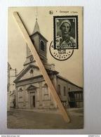 GENAPPE Nº 2 «L'EGLISE»Panorama (timbre Reine Astrid 1936)Édit E.P.DOHET - BAUDE ,Genappe)NELS. - Genappe