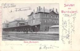 Gara Burdujeni 1904 - Romania